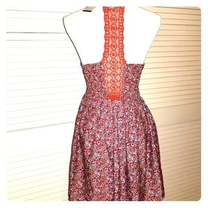 NWT American Rag Summer Floral Racerback Dress